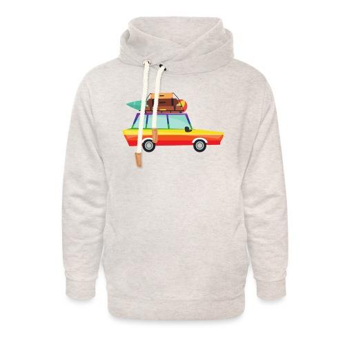 Gay Van | LGBT | Pride - Unisex Schalkragen Hoodie