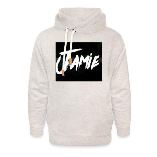 JamieValen - Unisex sjaalkraag hoodie