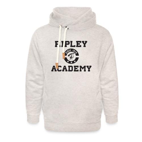 RIPLEY ACADEMY BLACK - Sudadera con capucha y cuello alto unisex