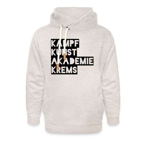 KKA 2016 lifestyle back2 - Unisex Schalkragen Hoodie