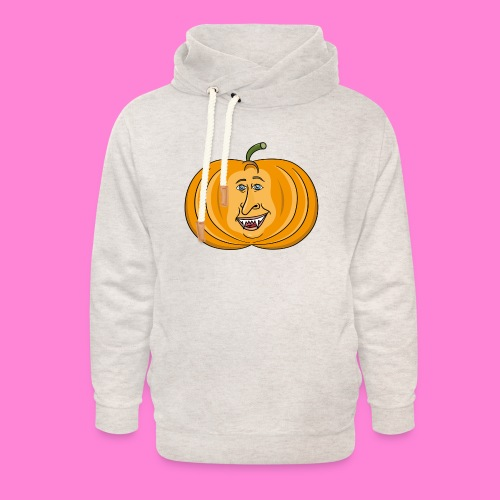 Rick pumpkin - Unisex sjaalkraag hoodie
