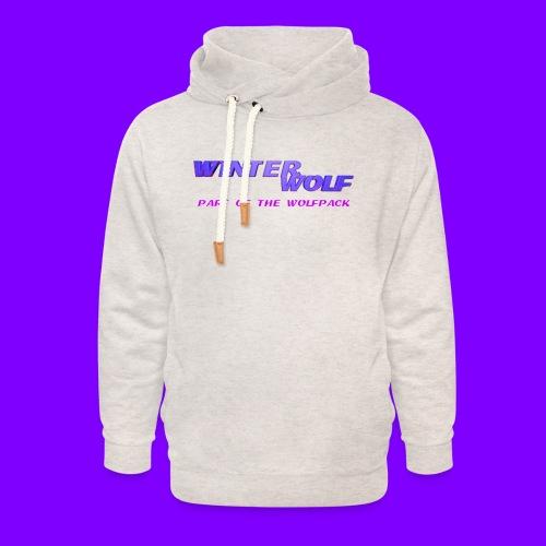 WINTERWOLF LOGO Part of The Wolfpack T-shirt - Unisex sjaalkraag hoodie