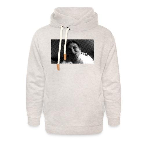 Basse Tshirt - Unisex hoodie med sjalskrave