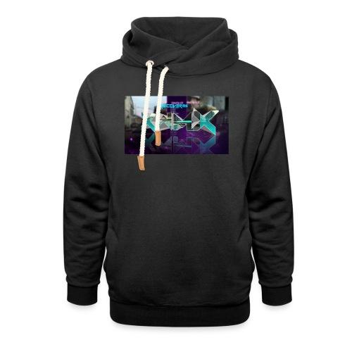 XZWhModzZX - Unisex hoodie med sjalskrave