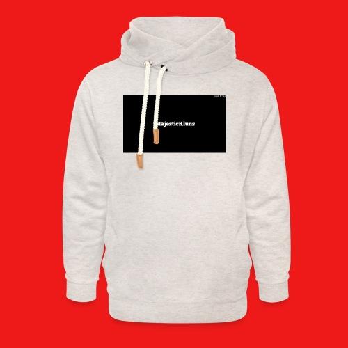 New - Unisex hoodie med sjalskrave