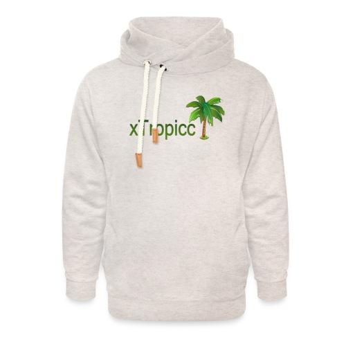 tropicc - Sweat à capuche cache-cou unisexe