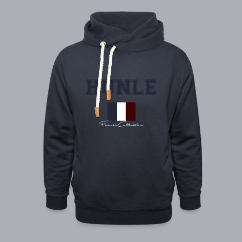 hunle French Collection n°1 - Sweat à capuche cache-cou unisexe