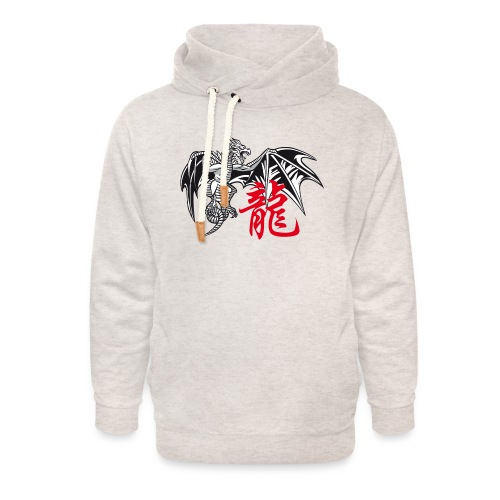 THE YEAR OF THE DRAGON ( - Unisex Shawl Collar Hoodie
