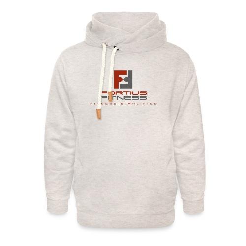 Fortius Fitness - Unisex hoodie med sjalskrave