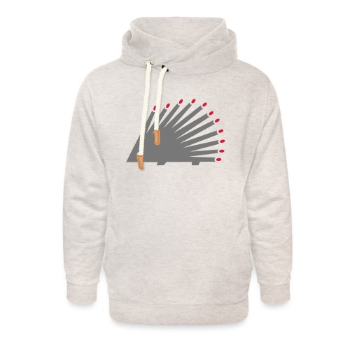Hedgehog - Unisex Shawl Collar Hoodie