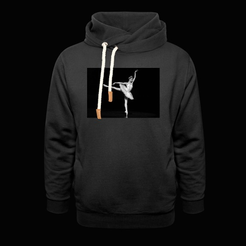 Royal Danish Warrior - Unisex hoodie med sjalskrave