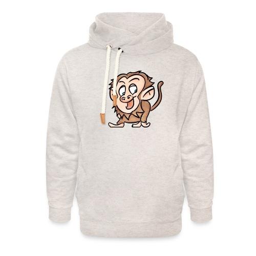 Aap - Unisex sjaalkraag hoodie