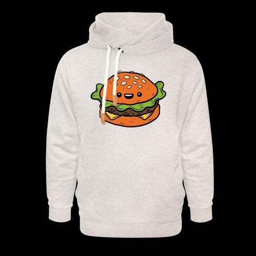 Star Burger - Unisex sjaalkraag hoodie
