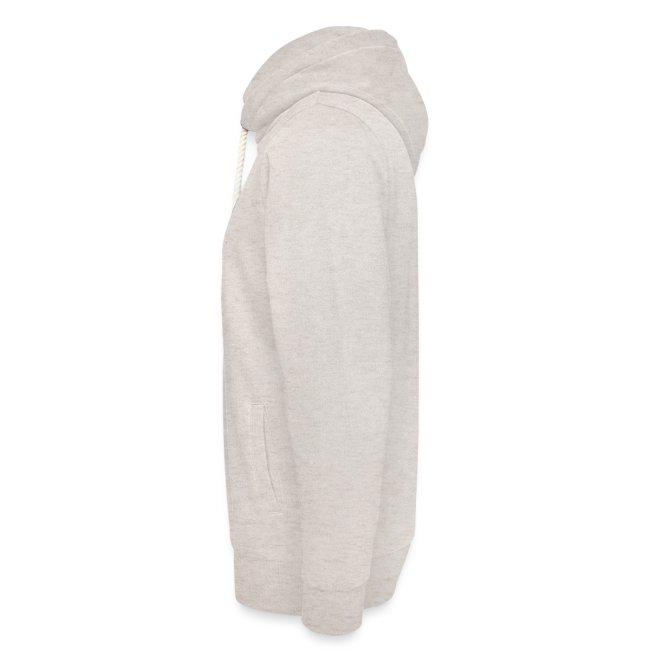 Vorschau: auf die kacke haun - Unisex Schalkragen Hoodie