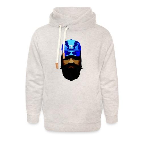 T-shirt gorra dadhat y boso estilo fresco - Sudadera con capucha y cuello alto unisex