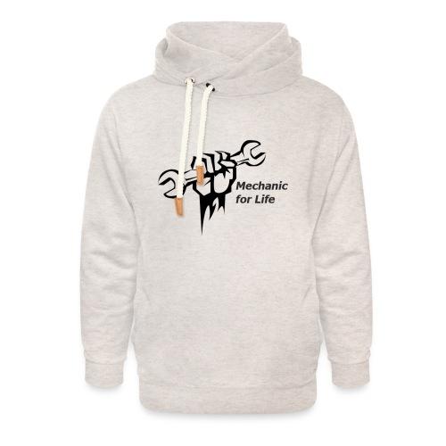 monteur voor het leven - Unisex sjaalkraag hoodie