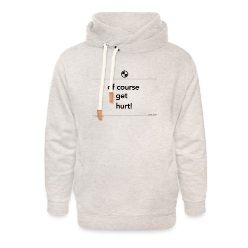 Of course I get Jackie Chan black - Unisex sjaalkraag hoodie