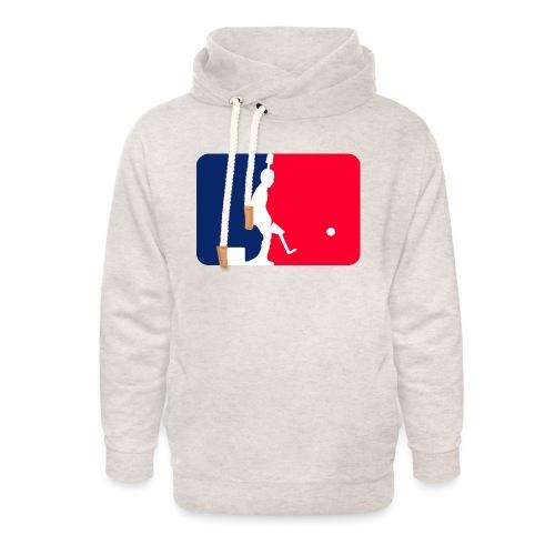 Major League Tipp-Kick Shirt - Unisex Schalkragen Hoodie