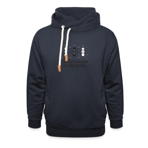 Teknoantropologisk Støtte T-shirt alm - Unisex hoodie med sjalskrave