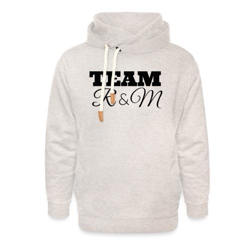 Team R N M Hoodie Black, W - Unisex Shawl Collar Hoodie