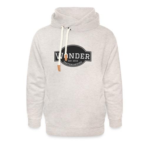 Wonder T-shirt - ol' small logo - Unisex hoodie med sjalskrave