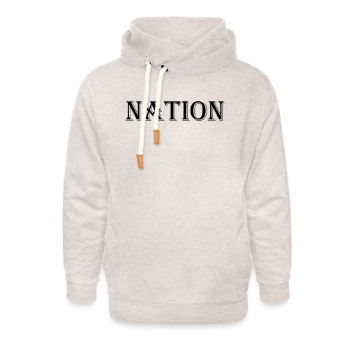 Nation Wear - Unisex sjaalkraag hoodie
