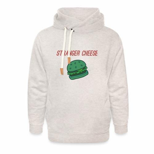 Stranger Cheese - Sweat à capuche cache-cou unisexe