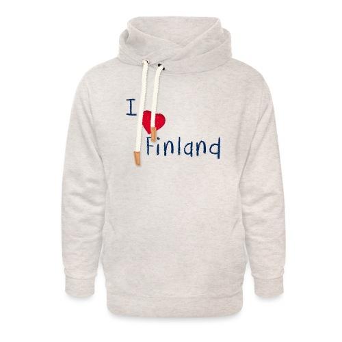 I Love Finland - Unisex huivikaulus huppari