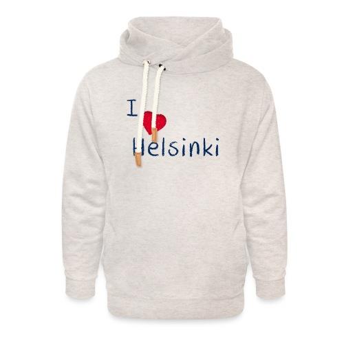 I Love Helsinki - Unisex huivikaulus huppari