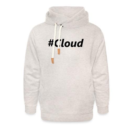 #Cloud black - Unisex Schalkragen Hoodie
