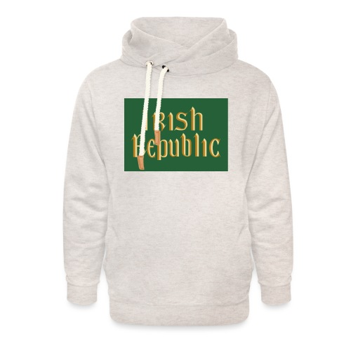 Original Irish Republic Flag - Unisex Shawl Collar Hoodie