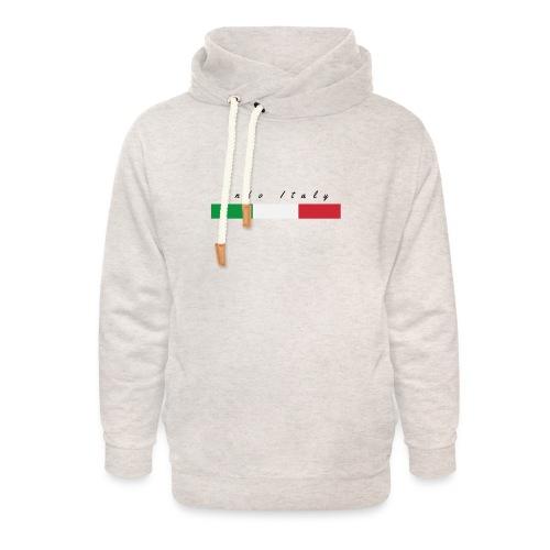 Info Italy Design - Felpa con colletto alto unisex