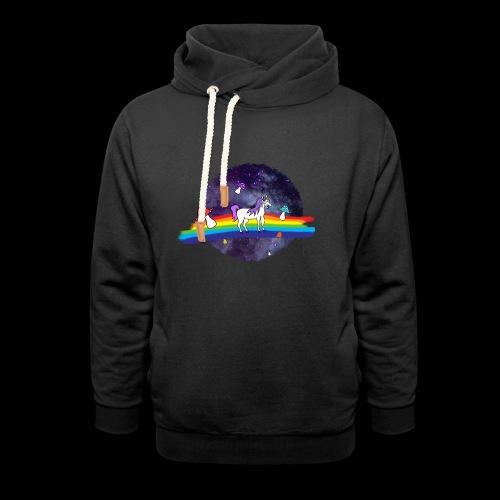 Mushroom Unicorn in Space Hoodie - Unisex Shawl Collar Hoodie