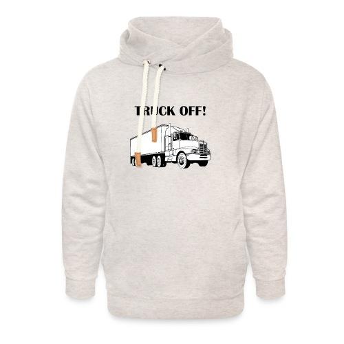 Truck off! - Unisex Shawl Collar Hoodie