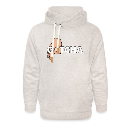 Gotcha Made You Look Funny Finger Circle Hand Game - Unisex Shawl Collar Hoodie