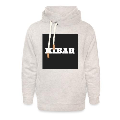 KIBAR - Unisex hoodie med sjalskrave