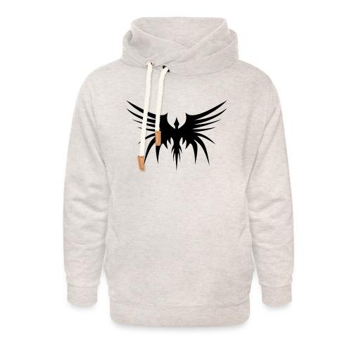 Phoenix Noir - Sweat à capuche cache-cou unisexe
