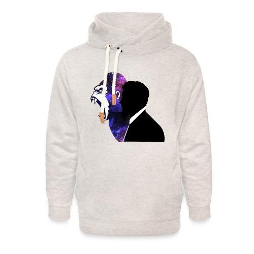 Gorilla - Unisex sjaalkraag hoodie