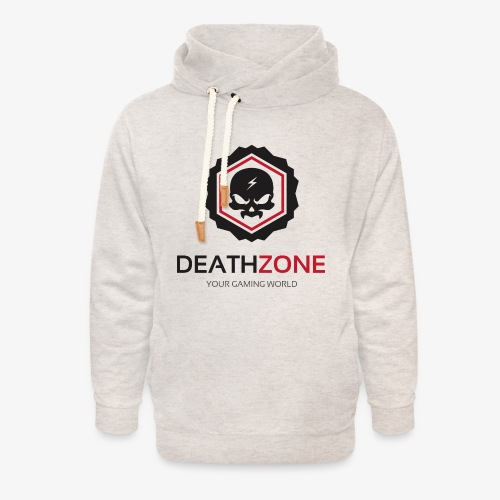 DeathZone Logo Avatar - Bluza z szalowym kołnierzem unisex