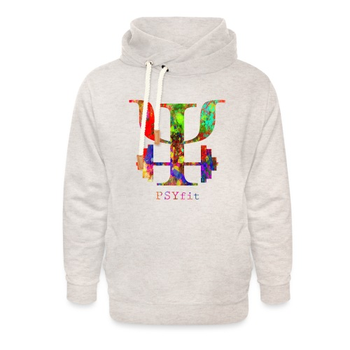 Watercolour splatter - Unisex Shawl Collar Hoodie