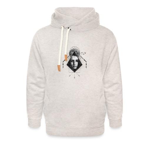 MOON GIRL - Unisex sjaalkraag hoodie
