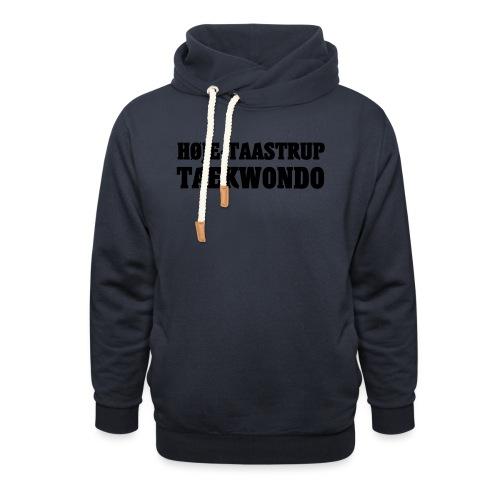 Høje-Taastrup Front Tryk - Unisex hoodie med sjalskrave