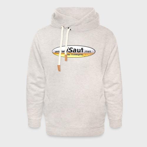 iSauf Logo - Unisex Schalkragen Hoodie