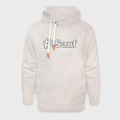 Hashtag iSauf klein - Unisex Schalkragen Hoodie