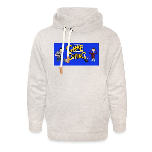 Game Coping Angry Banner - Unisex Shawl Collar Hoodie
