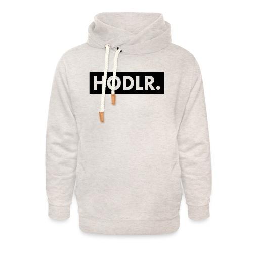 HODLR. - Unisex sjaalkraag hoodie