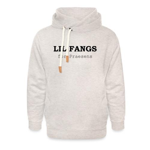 Lil Fangs for Praesens - Black Text - Unisex Shawl Collar Hoodie