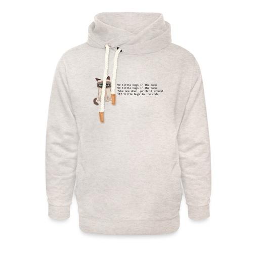 99 litle bugs of code - Unisex sjaalkraag hoodie