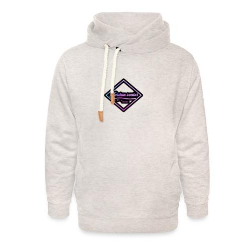 jordan sennior logo - Unisex Shawl Collar Hoodie