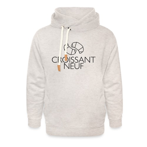Croissaint Neuf - Unisex sjaalkraag hoodie